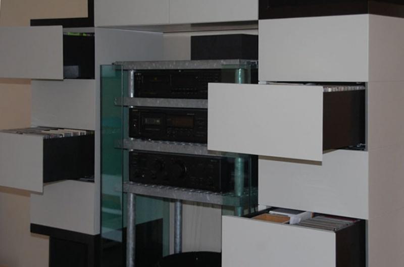 medienm bel m bel sch ll architektur. Black Bedroom Furniture Sets. Home Design Ideas